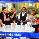 Studio 10 September 2017 Mind reading live on air