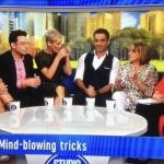 Studio 10 September 2017 Mind reading live on air