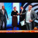 One job Sam, you had ONE job. Sunrise, Channel Seven