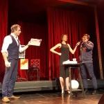 Mind Magician Phoenix live on stage at Sydney Fringe Festival