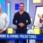 LIVE mind reading performance on Stdio 10, Channel Ten Australia