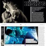 The Mentalist in Club Life Magazine, Feb 2013