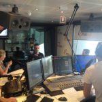 In studio on The Big Couch, 94.5 FM Perth Radio