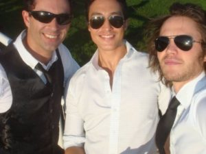 Danny Hennery, Taylor Kitsch, & Phoenix - Day at the races.