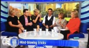 Sydney Mentalist and Mind reader on Studio 10