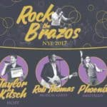 Rock the Brazos with Rob Thomas, Taylor Kitsch, and Phoenix